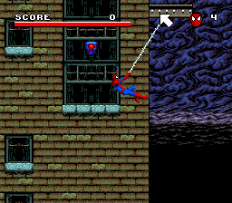 Spider-Man and the X-Men in Arcade's Revenge (USA) (4 Man Version) In game screenshot