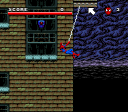 Spider-Man and the X-Men in Arcade's Revenge (USA) In game screenshot