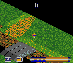 Spindizzy Worlds (Europe) In game screenshot