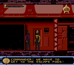 Star Trek - Deep Space Nine - Crossroads of Time (USA) In game screenshot