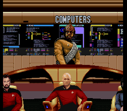 Star Trek - The Next Generation - Future's Past (Europe) In game screenshot