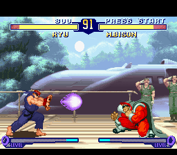 Street Fighter Alpha 2 (Europe) In game screenshot