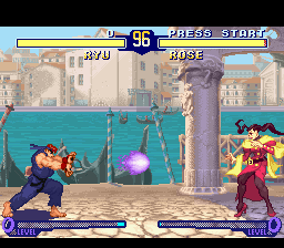 Street Fighter Zero 2 (Japan) In game screenshot
