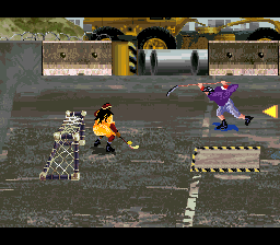 Street Hockey '95 (USA) In game screenshot