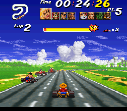 Street Racer (Japan) In game screenshot