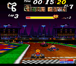 Street Racer (USA) In game screenshot