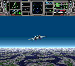 Super Air Diver (Japan) In game screenshot