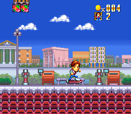 Super Back to the Future Part II (Japan) In game screenshot