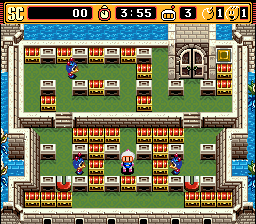 Super Bomberman 2 (USA) In game screenshot