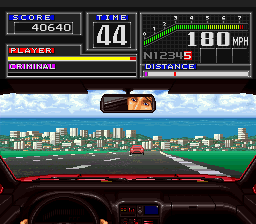 Super Chase H.Q. (USA) In game screenshot