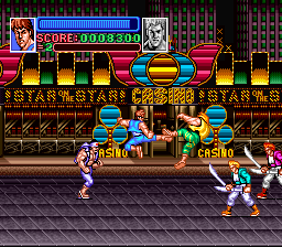 Super Double Dragon (USA) In game screenshot