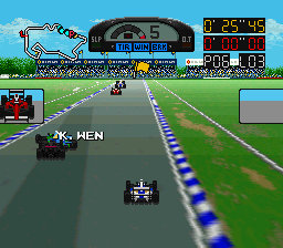 Super F1 Circus 3 (Japan) In game screenshot