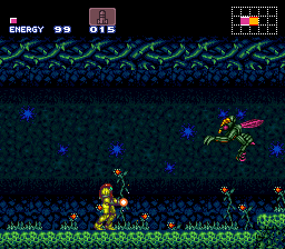 Super Metroid (Europe) (En,Fr,De) In game screenshot