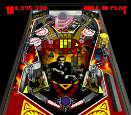 Super Pinball II - The Amazing Odyssey (Japan) In game screenshot