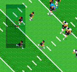 Super Play Action Football (USA) In game screenshot