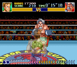 Super Punch-Out!! (Europe) In game screenshot