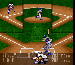 Super RBI Baseball USA In Game Screenshot
