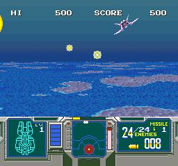Super Scope 6 (USA) In game screenshot
