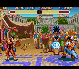 Super Street Fighter II - The New Challengers (Japan) In game screenshot