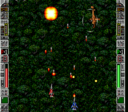 Super Strike Gunner (Europe) In game screenshot