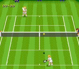 Super Tennis - World Circuit (Japan) In game screenshot