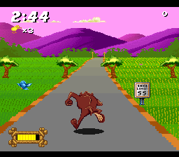 Taz-Mania (USA) (Beta) In game screenshot