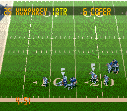 Tecmo Super Bowl III - Final Edition (Japan) In game screenshot