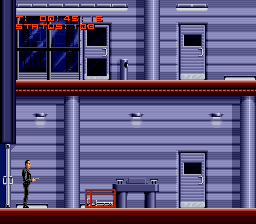 Terminator, The (Europe) (Beta) In game screenshot