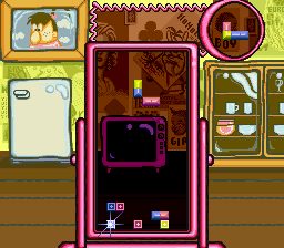 Tetris 2 (Europe) In game screenshot