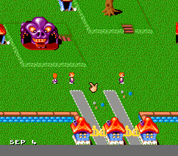 Theme Park (Europe) (En,Fr,De) In game screenshot