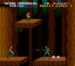 Time Slip (Europe) In game screenshot