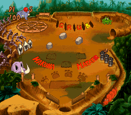 Timon & Pumbaa's Jungle Games (Europe) In game screenshot