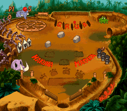 Timon & Pumbaa's Jungle Games (USA) In game screenshot