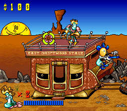 Tin Star (USA) In game screenshot