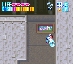 Tiny Toon Adventures - Buster Busts Loose! (USA) In game screenshot
