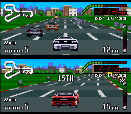 Top Gear (USA) In game screenshot