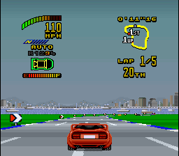 Top Gear 2 (USA) In game screenshot