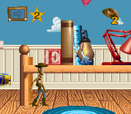 Toy Story (Europe) (En,Fr,De) In game screenshot