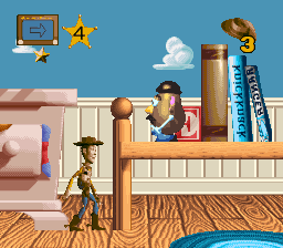 Toy Story (USA) In game screenshot