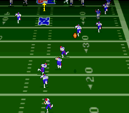 Troy Aikman NFL Football (Europe) In game screenshot