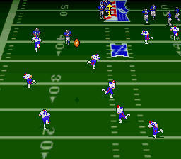 Troy Aikman NFL Football (USA) In game screenshot