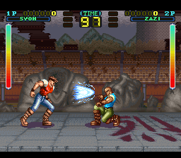Tuff E Nuff (Europe) In game screenshot