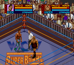 WCW Super Brawl Wrestling (USA) In game screenshot