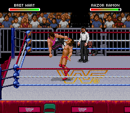 WWF Raw (Europe) In game screenshot