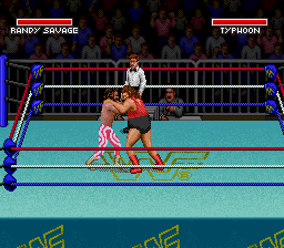 WWF Super WrestleMania (USA) In game screenshot