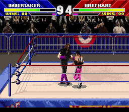 WWF WrestleMania (Europe) In game screenshot