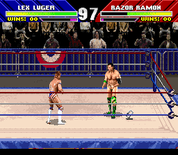 WWF WrestleMania (USA) In game screenshot