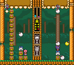 Wario's Woods (Europe) In game screenshot