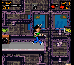 Wayne's World (Europe) In game screenshot