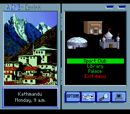 Where in the World is Carmen Sandiego (USA) In game screenshot